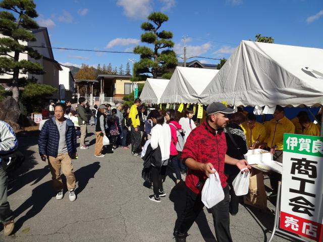 伊賀良地区文化祭の様子